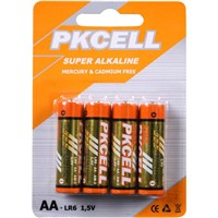 PKCELL Super Alkaline Dry Cell Battery