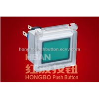 Plastic Push Button Switch HBS1-AWJ-11