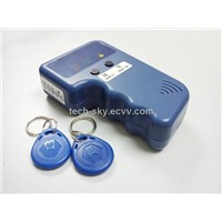 Portable RFID Copier Kit+125KHz EM4100 Writable Card and Keyfob.5567 5577 Reader and Writer