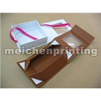 Portable folding box for storage,packaging