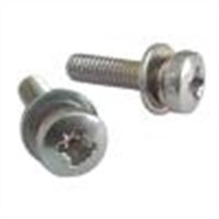 Pozidriv Cross Recessed Pan Head Sems Screw