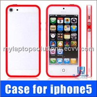 Protective Plastic Bumper case for iPhone 5