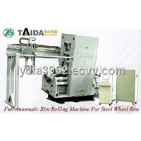 Rolling Machine For Tube Steel Wheel