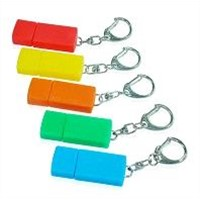 Rubber USB Flash Disk with Key Chain 1gb-32gb