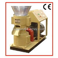Small Flat Die Wood Pellet Machine