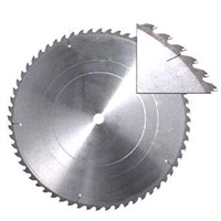 Saw blade for cutting iron