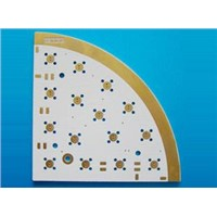 Single-Side PCB Board with Hall Lead Free Surface Finish and CEM-3 Base Material