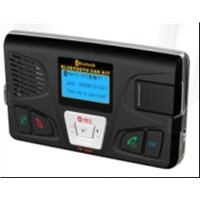 Solar Charge Bluetooth Car Kit Support Voice Control TF Card and Fm Transmit (OX-BC-668J)