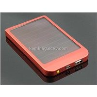 Solar Power Bank External Battery Charger for iphone/iPad/cellphone/Tablet PC