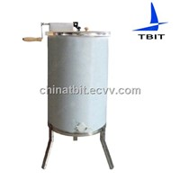 Stainless steel 3 frame manul honey extractor