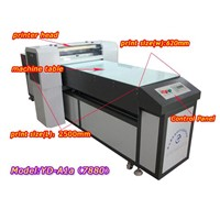 Surprising flatbed UV printer, high speed and high resolution, industrial printer