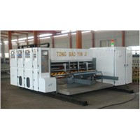 TB480-A automatic Two Colors Printing Slotting carton box making machine