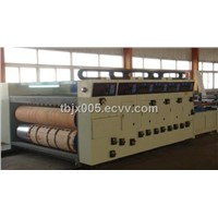 TB480 Four Color Flexo Printing Slotting and Die-cutting Machine