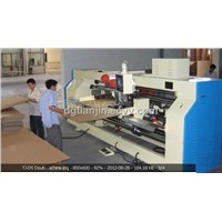 TJ-DS double-sheet double-servo nailing machine