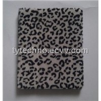 the New iPad Leopard Grain Style Leather Case