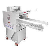 The stainless steel automatic high efficient dough sheeter