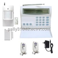 Timing Arm/Disarm Wireless & wire 16 zones Indicator security alarm FS-AME516