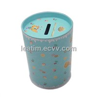 Tin Coin bank (Tin Box)