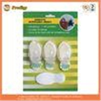 Transparent Eco - Friendly Self Adhesive Ps Plastic Adhesive Hooks Heavy Duty