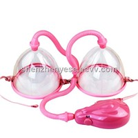 UHF negative pressure pulse Electric Air Chest Pump, breast cup enhancer and enlarger massager