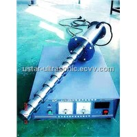 Ultrasonic Alloy melt crystal grain refinement  machine