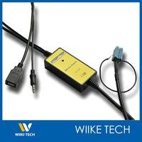 V.W USB Aux MP3 Adapter(Mini ISO 8P)