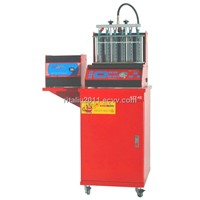 WL-6E ultrasonic  fuel injector cleaner & tester , return oil by hand