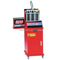 WL-GB6B  injector tester & cleaner with two pumps, automatic return oil