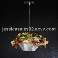 Warm and romantic wedding decoration  modern droplight
