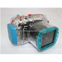 Waterproof Camera Case for Nikon V1(10-30mm Lens)/Underwater Diving Camera Housing 40m/130ft