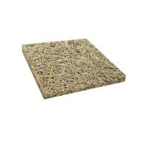 Wood wool sound absorbing pane