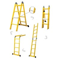 multipurpose ladder aluminum ladder home ladder household ladder