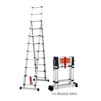 aluminum telescopic A ladder 2.6m+3.2m