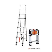 aluminum telescopic A ladder 2m+2.6m