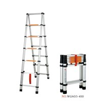 aluminum telescopic A ladder 2m+2m
