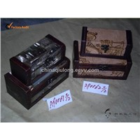 Antique Wooden Boxes for Packing and Gifts