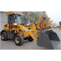 compact loader ZL15F with 4-in-1 bucket