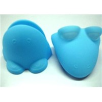 Flog shape silicone oven mitt