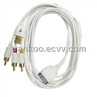 for apple iphone AV Cable