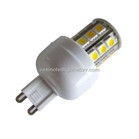 g9 led bulbs, 3528/5050 SMD, chandelier pendant crystal quartz lights use, screw base option