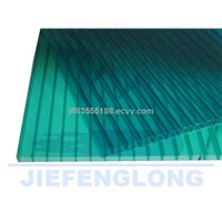good red twin-wall polycarbonate hollow sheet