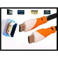 hdmi cable to hdmi cable 1.4version 1080p 24k gold plated for hdmi devices.