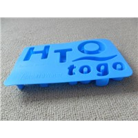 Letter shape silicone  ice-forming mold