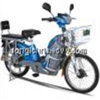 loading electric motorcycle