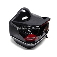 luggage box with LED light for scoter motorcycle