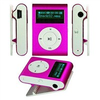 Mini Clip MP3 Player with Screen Support Tf Card
