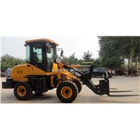 mini loader ZL10F with fork lift
