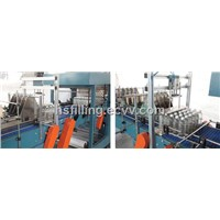 pet bottle/glass bottle/cans group packing machine