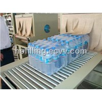 semi-auto  beverage bottles group packing machine