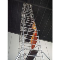 single width aluminum alloy high quality cheap scaffolding